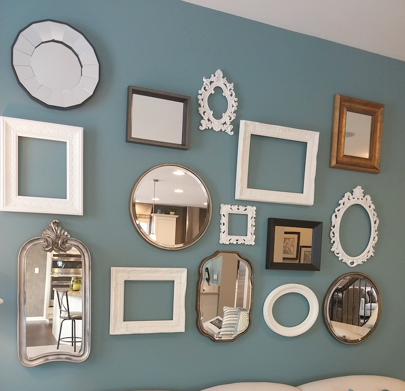 Home Decor Mirror Gallery Wall