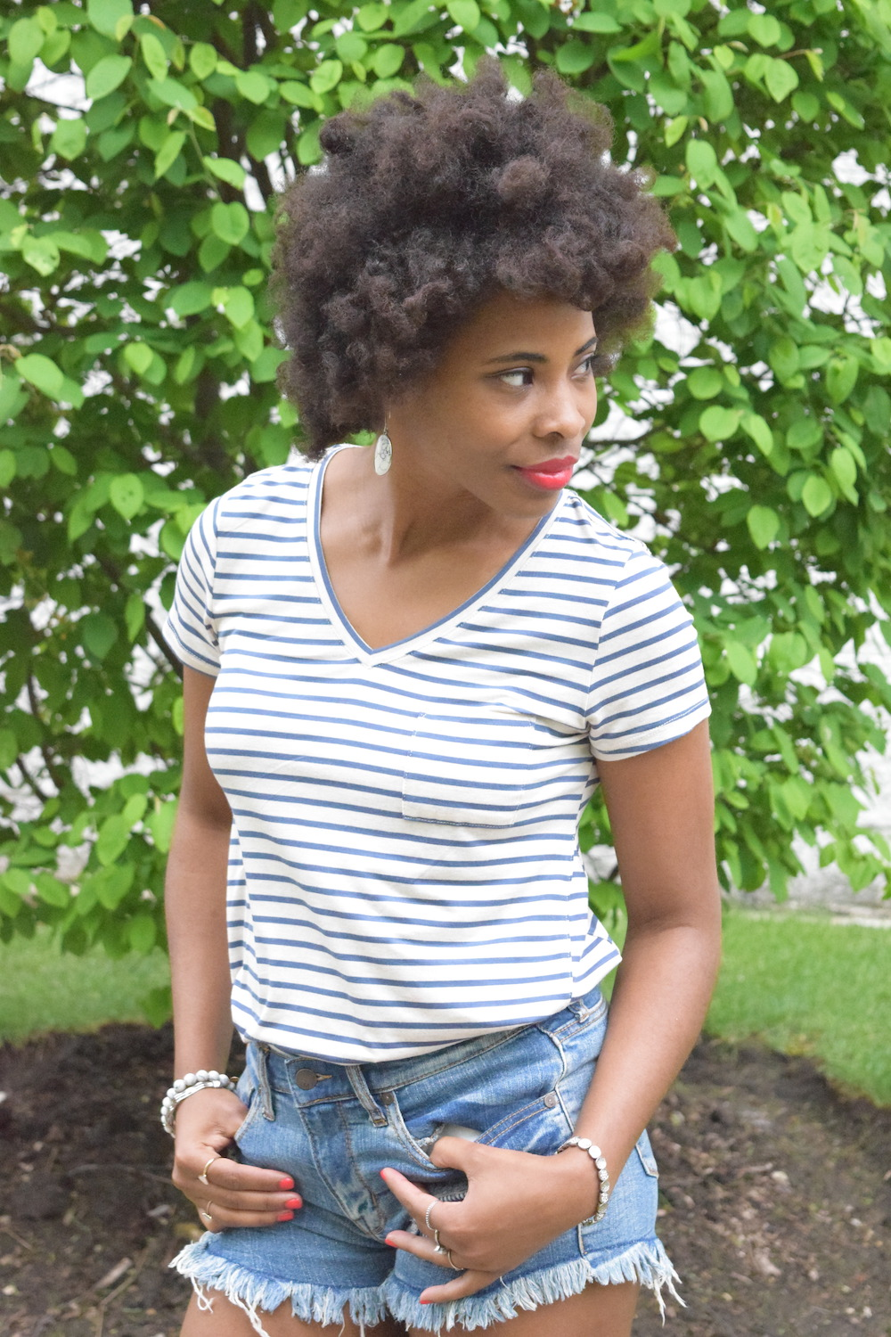 blue-striped-tee